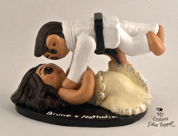 Jiu Jitsu Wedding Cake
