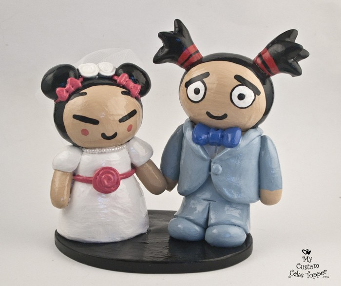 Fun and Games Wedding Cake Toppers - My Custom Cake Topper