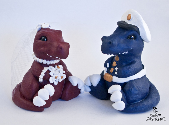 dinosaur wedding cake toppers dinosaurs t rex sitting wedding cake topper my custom 13532
