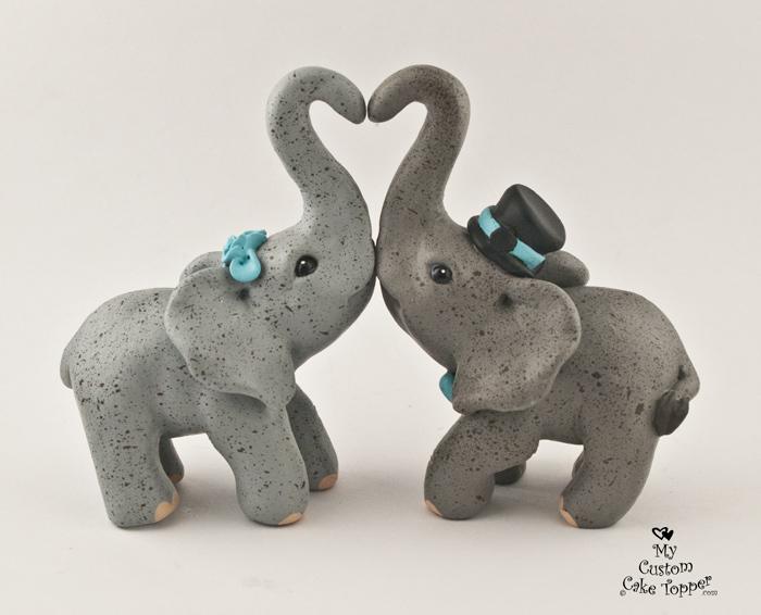 Elephants making a heart for Elephant heart trunk