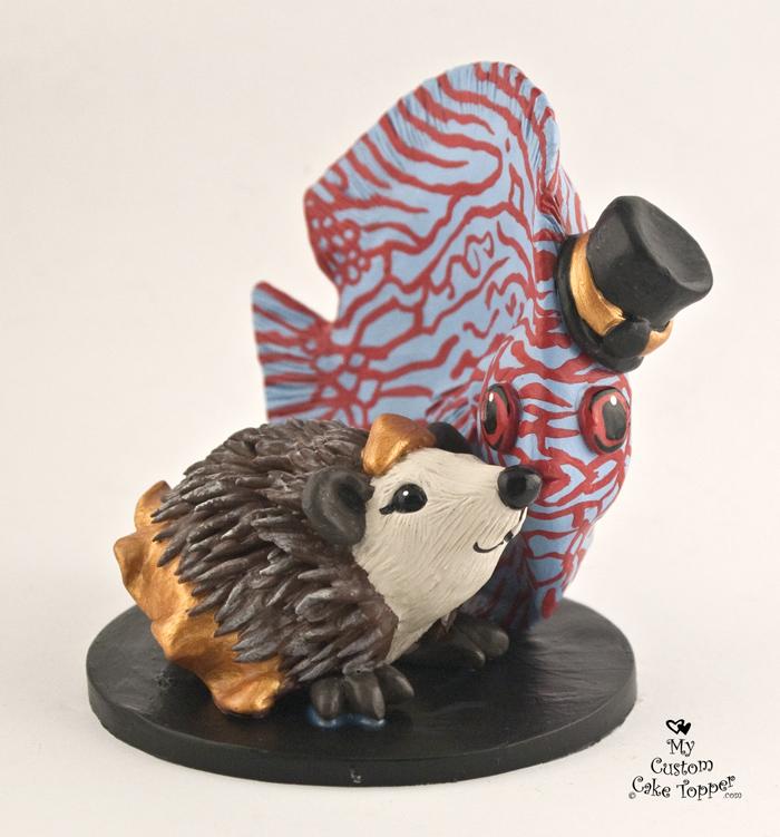 Animal Wedding Cake Toppers - My Custom Cake Topper