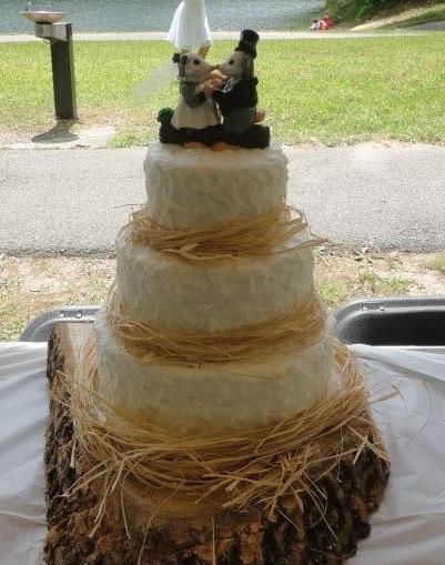 Custom Animal Wedding Cake Toppers