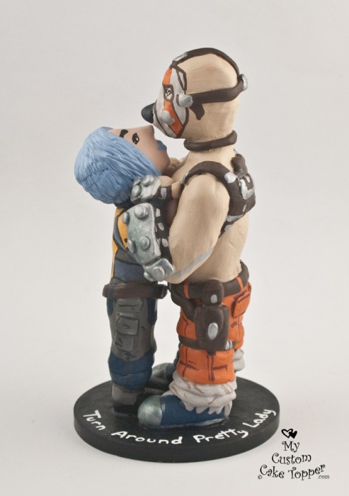 Maya And Krieg From Borderlands Wedding Cake Topper My