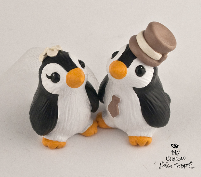 Bird Wedding Cake Toppers - My Custom Cake Topper