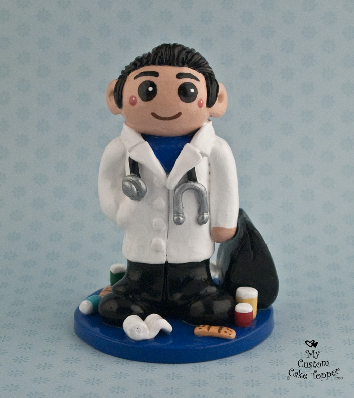 The Doctor Birthday Cake Topper My Custom Cake Topper