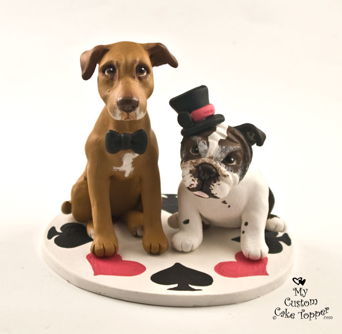 wedding cake topper with dog wedding cake toppers my custom cake topper 8811