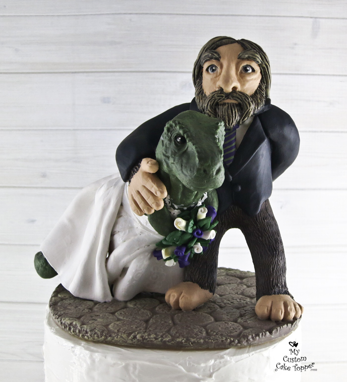 Big Foot Cake Toppers