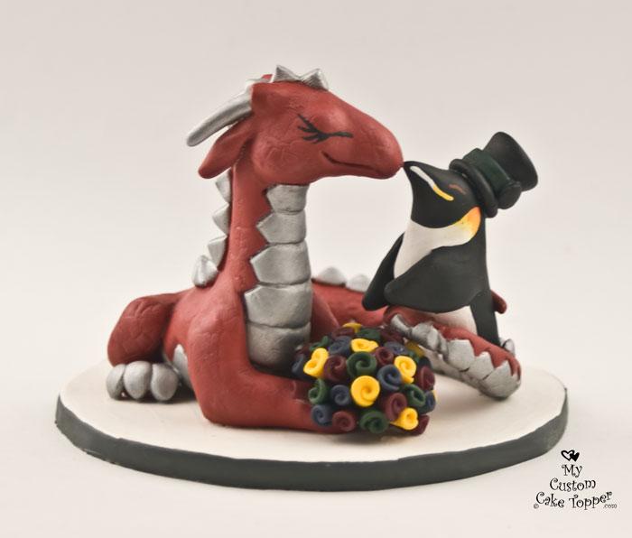 Penguin Custom Cake Topper For 28 Images